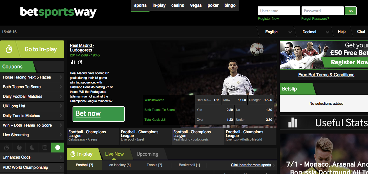 sport chat betway