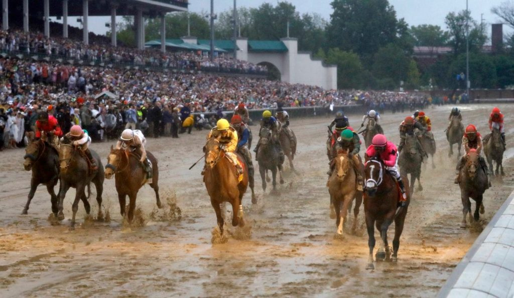 Odds prices at Kentucky Derby
