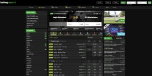 Racing odds at Betway
